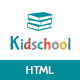 Kidschool - Kids & Kindergarten School HTML Template Nulled
