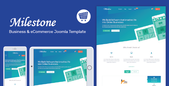 Milestone - Responsive Multi-purpose Joomla Template - Corporate Joomla