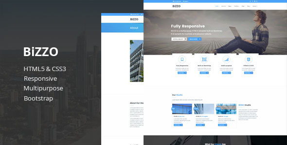 Bizzo – Multipurpose HTML5 Template