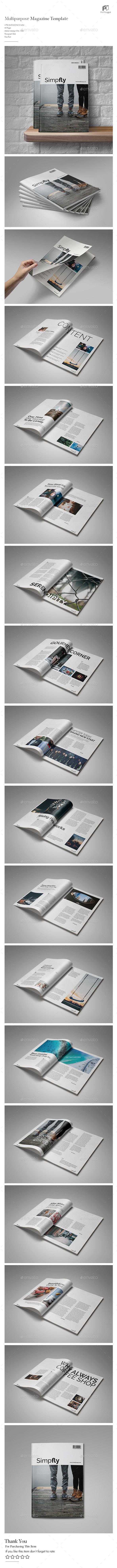 Clean & Simple Magazine Vol.5 - Magazines Print Templates