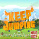 Keep Jumping Game Template | Admob (Banner + Interstitial ) +in game purchase