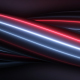Neon Twisted Stripes Blue And Red - VideoHive Item for Sale