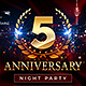 Anniversary Party Flyer - GraphicRiver Item for Sale