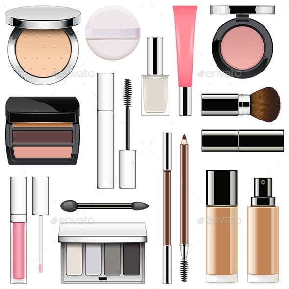 Makeup Icons Set 2 - Retail Commercial / Shopping