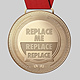 Medal PSD Mockup - GraphicRiver Item for Sale