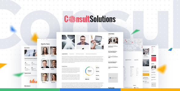 Consult Solution – Business, Finance & Corporate WordPress Theme