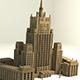 Russian MFA building - 3DOcean Item for Sale