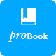 ProBook - Book Landing Page PSD - ThemeForest Item for Sale