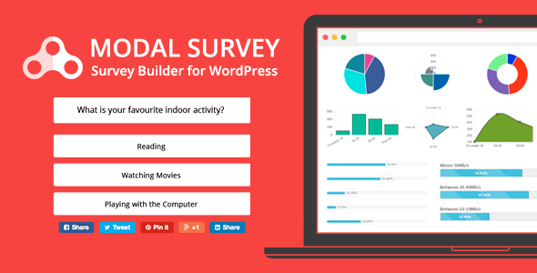 Modal Survey - WordPress Poll, Survey & Quiz Plugin - CodeCanyon Item for Sale