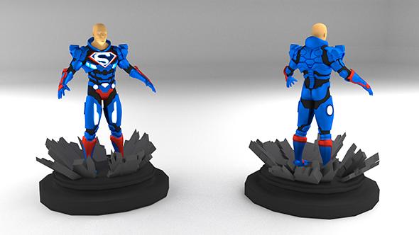 Lex Luthor - Superman Suit - 3DOcean Item for Sale