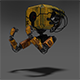 Rusty Robotic Mech - 3DOcean Item for Sale