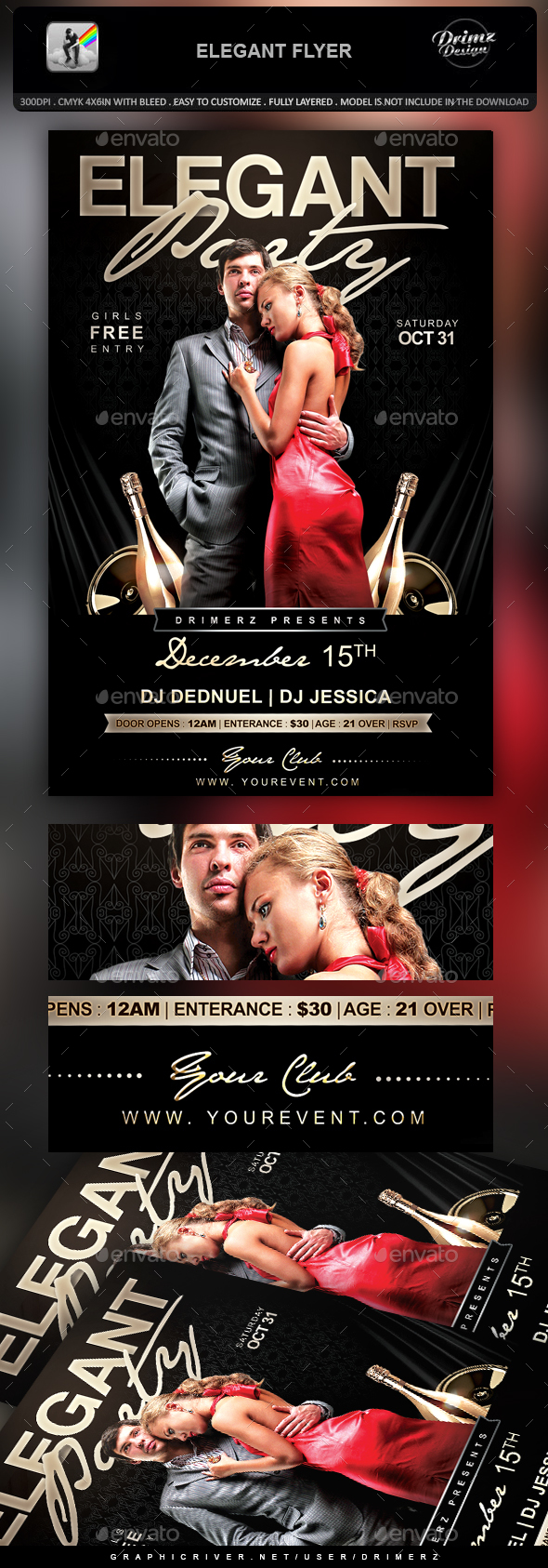Elegant Flyer - Events Flyers