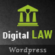 Digital Law | Attorney, Lawyer and Law Agency WordPress Theme Nulled