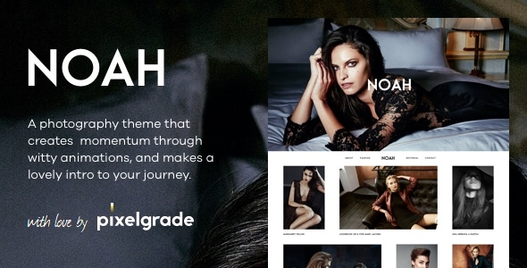 NOAH - A Witty Photography WordPress Theme