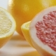Citrus Fruits. Camera Moving From Left To Right