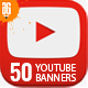 50 Multipurpose YouTube Channel Art - GraphicRiver Item for Sale