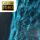 Digital Blue Particle Waves - VideoHive Item for Sale