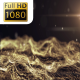 Gold Flow Particles Waves - VideoHive Item for Sale