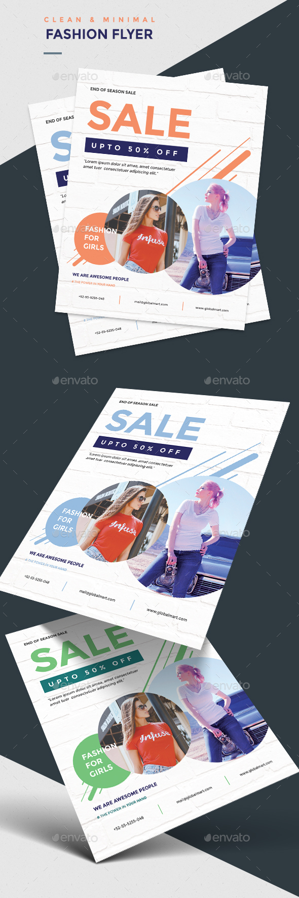 Minimal Fashion Sale Flyer - Corporate Flyers