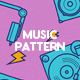 Music Pattern Backgrounds - GraphicRiver Item for Sale