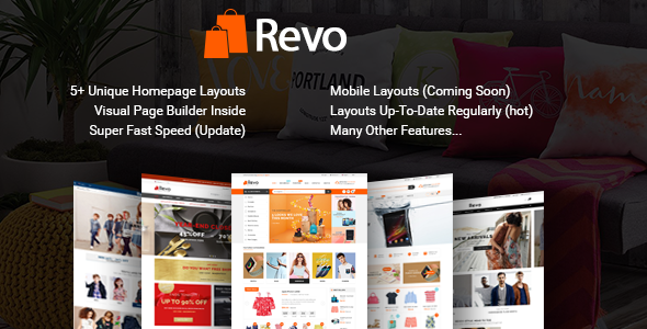 Revo – Drap & Drop Multipurpose OpenCart Theme