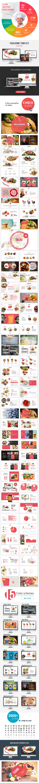 Food & Drinks PowerPoint Presentation Template - PowerPoint Templates Presentation Templates