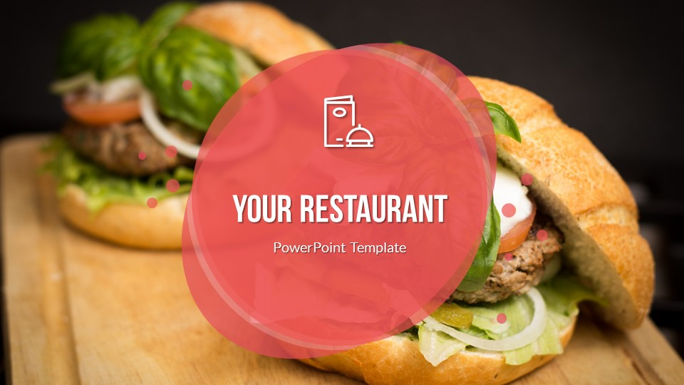 Food  Drinks Powerpoint Presentation Template By Sananik