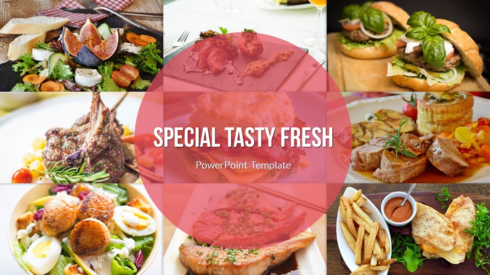 Food & Drinks Powerpoint Presentation Template By Sananik
