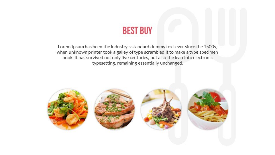 Food Drinks PowerPoint Presentation Template By SanaNik GraphicRiver - Best of powerpoint food themes scheme