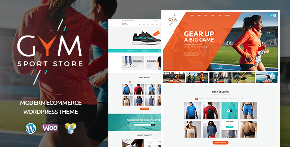 GYM | Sports Clothing & Equipment Store WordPress Theme