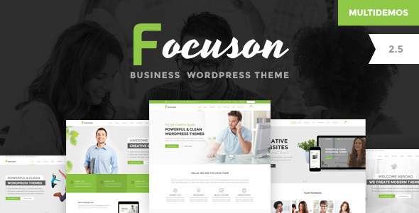 Focuson - Business WordPress Theme - Corporate WordPress