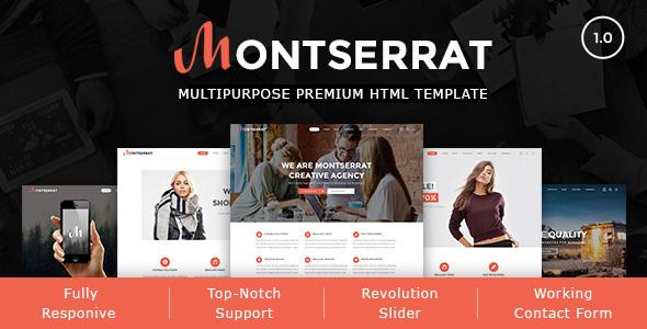 Montserrat - Multipurpose Modern HTML Template - Creative Site Templates