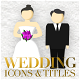 Wedding Motion Icons & Titles - VideoHive Item for Sale