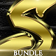 Shiny Gold Photoshop Styles [BUNDLE] - GraphicRiver Item for Sale