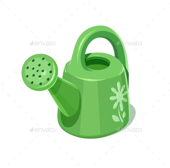 Watering Can - Man-made Objects Objects