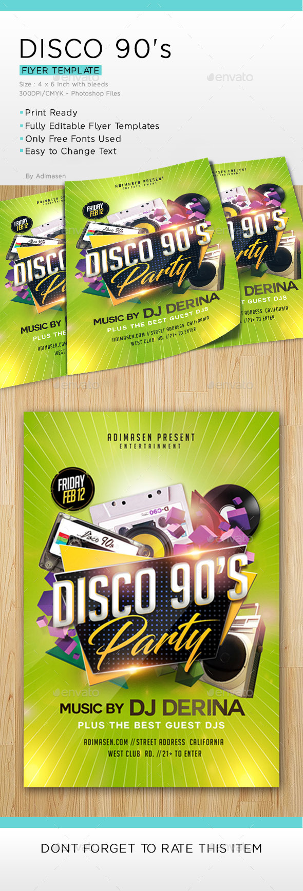 Disco 90's Party - Clubs & Parties Events