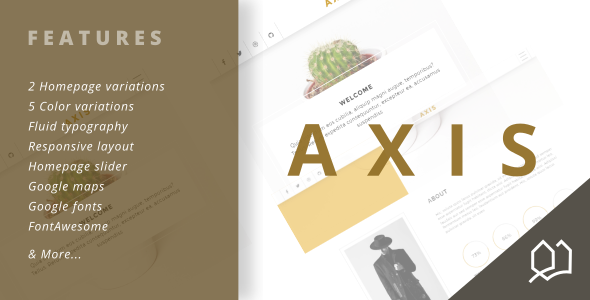 Axis Responsive HTML5 Template