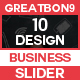 Sliders - 10 Design - GraphicRiver Item for Sale