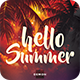Hello Summer Flyer - GraphicRiver Item for Sale