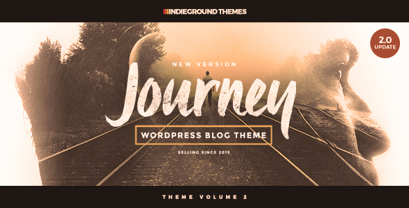 Journey - Personal WordPress Blog Theme - Personal Blog / Magazine