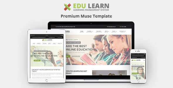 EduLearn – Education, School & Courses Muse Template