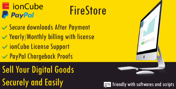 FireStore | Digital Goods Store