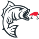 Fish Catch Logo - GraphicRiver Item for Sale