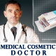 Doctor presenting Medical / Cosmetic product