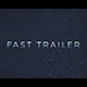 Fast Trailer Teaser - VideoHive Item for Sale