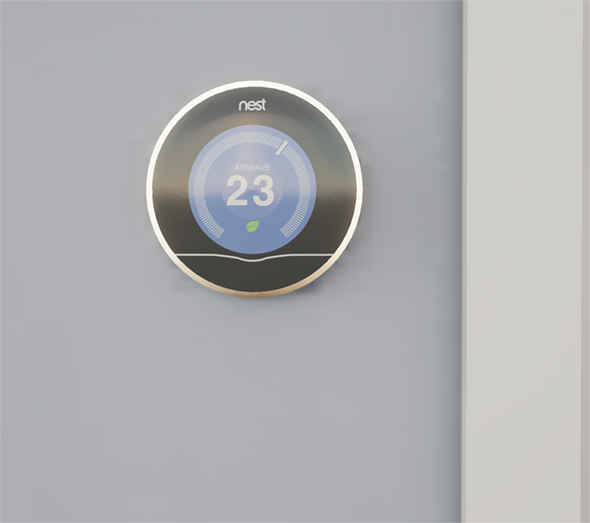 Nest Thermostat - 3DOcean Item for Sale