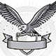 Spread Winged Eagle Insignia - GraphicRiver Item for Sale