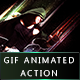 GIF Animated / Static Abstract Glow Photoshop Action - GraphicRiver Item for Sale
