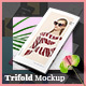 Fashion Trifold Mockup - GraphicRiver Item for Sale