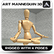 Mannequin 3D - 3DOcean Item for Sale